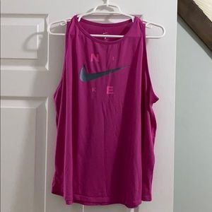Nike active muscle tank